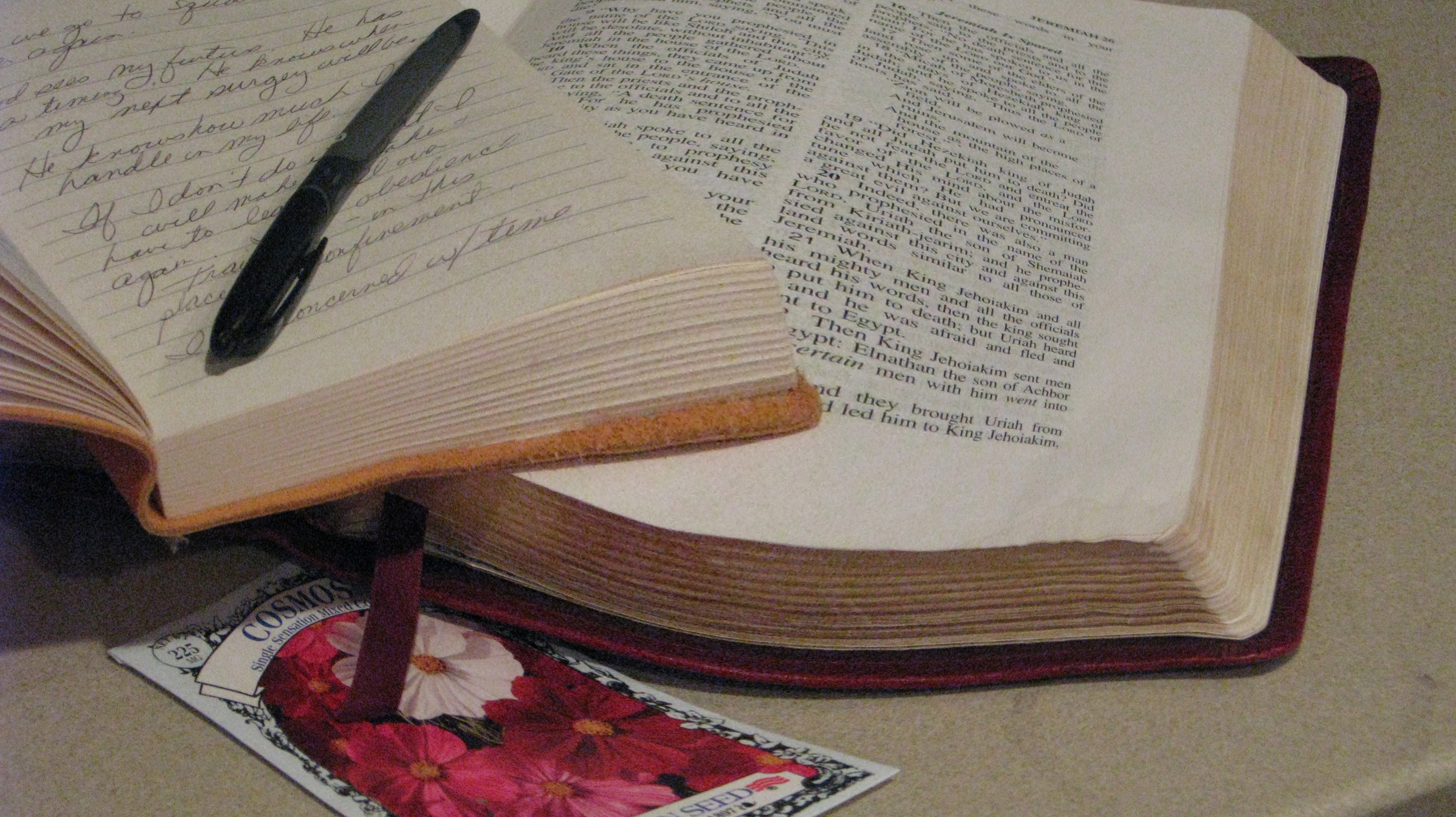 Journaling God's Word